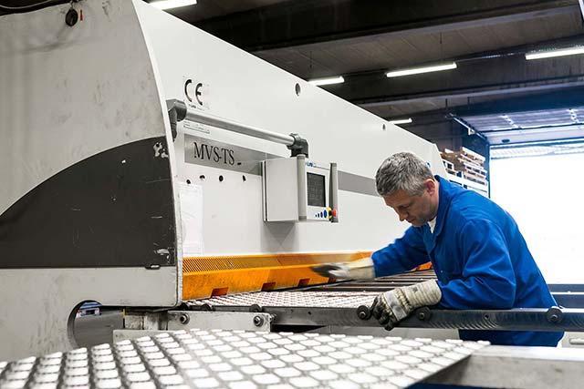 CNC knippen VMT metaalbewerking